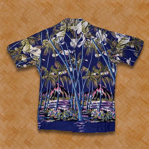 PJ: Hawaiian Palms (Blue)