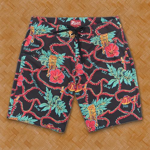 KAH: Tiki Time Board Shorts