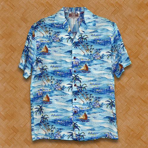 KAL: Beach Huts (Blue)