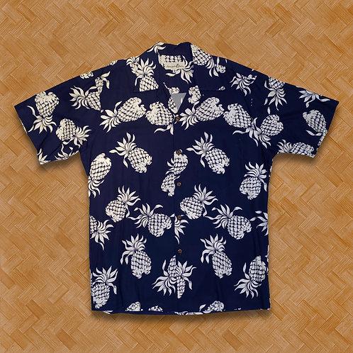 PJ: Pineapples (Navy)