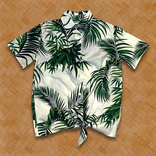 DT: Ladies 'Havana Palms' (Cream)