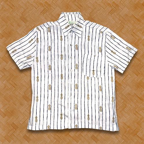 ABS: Pineapple Stripe (White)
