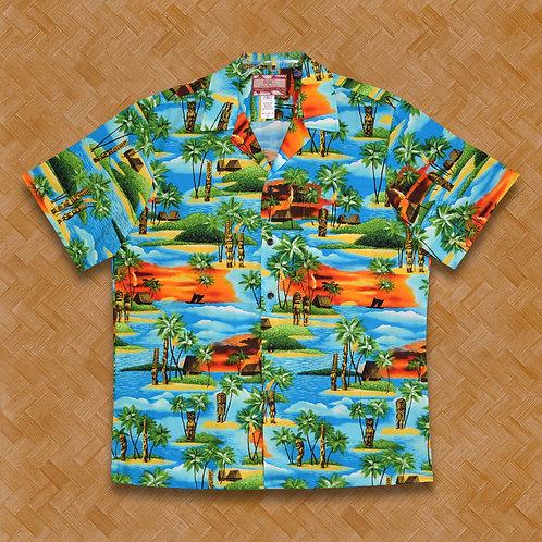 RJC: Tiki Island (Turquoise)