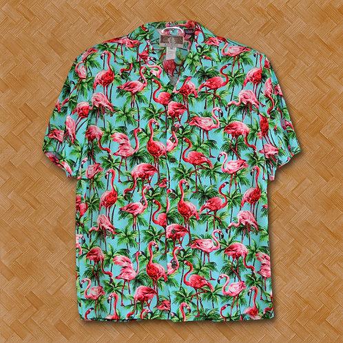 KAL: Flamingos Galore (Turquoise)