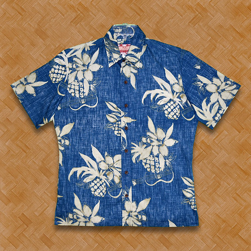 RJC: Reverse Pineapple Ukulele (Blue)