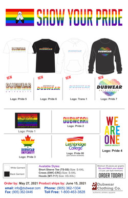 Dubwear Pride 2021 web