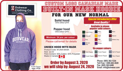 Canadian Made Hood with Mask Promo web