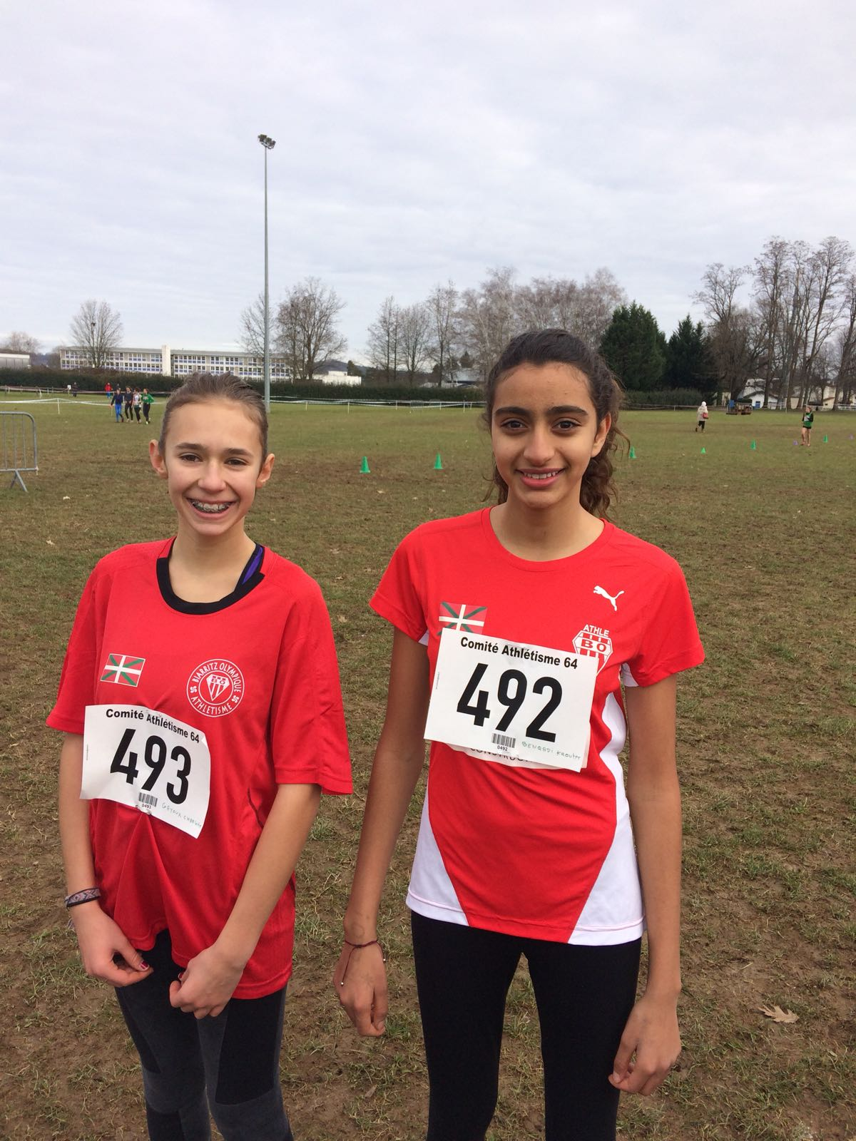 Equipe Minime - Charlotte et Kaoutar