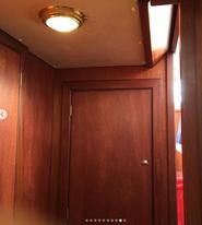 Door to forward Cabin