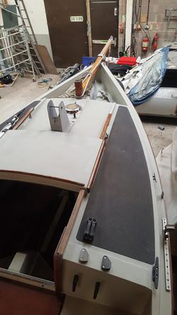 Tiarri bow deck