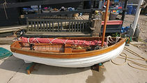 Traditional Sailing Dinghy For Sal
