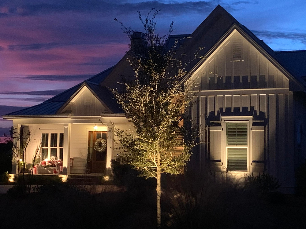Lighting on Home in Bluffton, SC