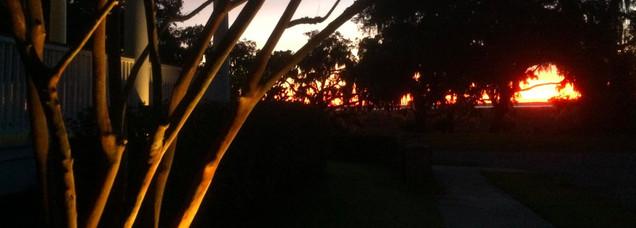 Sunset and Lighting