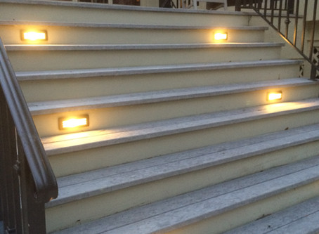 Low-Voltage Brass Deck Lighting