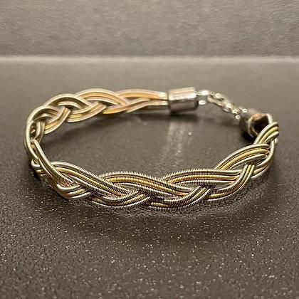 Braided Guitar String Bracelet