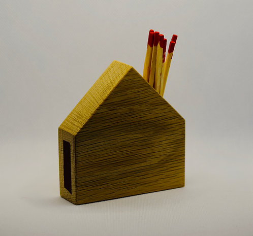 Handmade Wooden Match Stick House