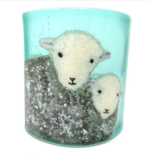 Pair of Herdwick Sheep Arc