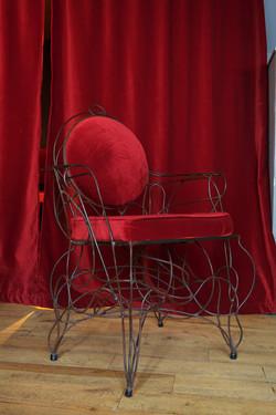 détail d'un fauteuil