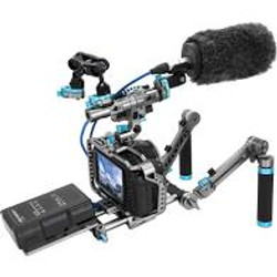 6K Camera with Boom Mic