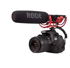 DSLR Camera with Boom Mic