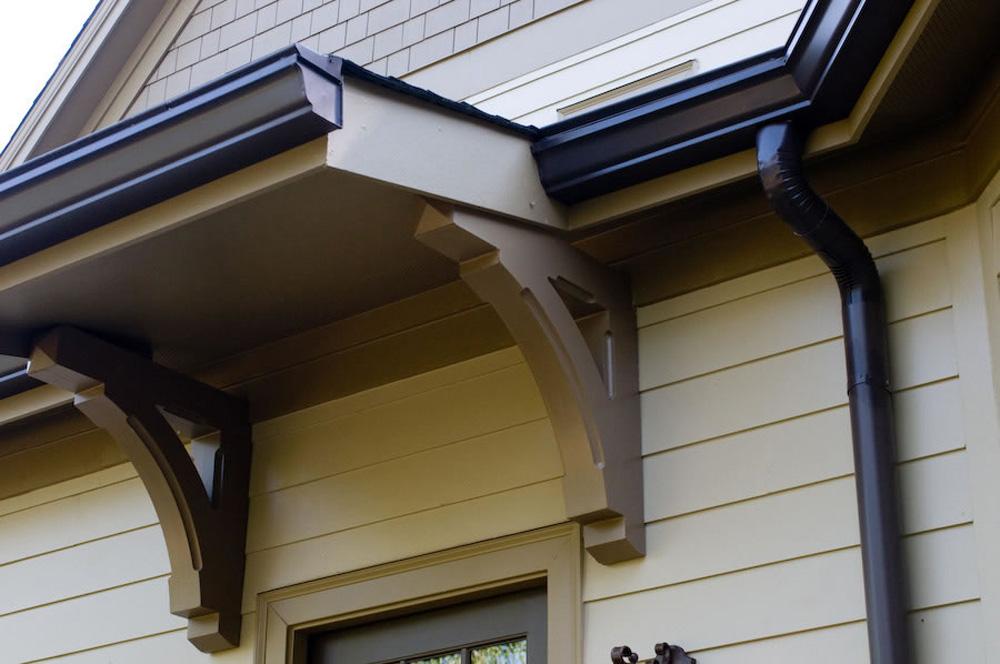 aluminum gutter