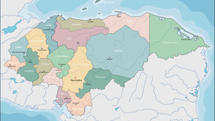 Video: Departamentos de Honduras