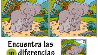 Fichas: Encuentra las diferencias