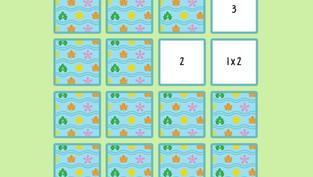 Juego: Tablas de multiplicar de memoria