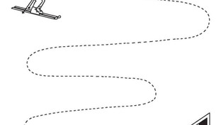 Caligrafía: Ejercicios de trazos II