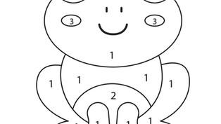 Ejercicios: Colorea con números