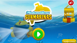 Juego: Matemáticas submarinas