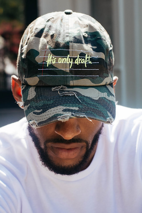 His Only Draft Dad Cap