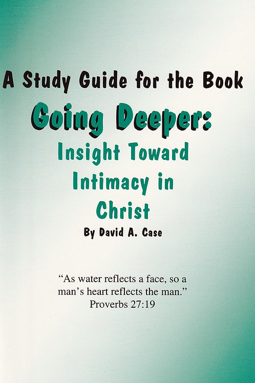 Going Deeper: The Study Guide