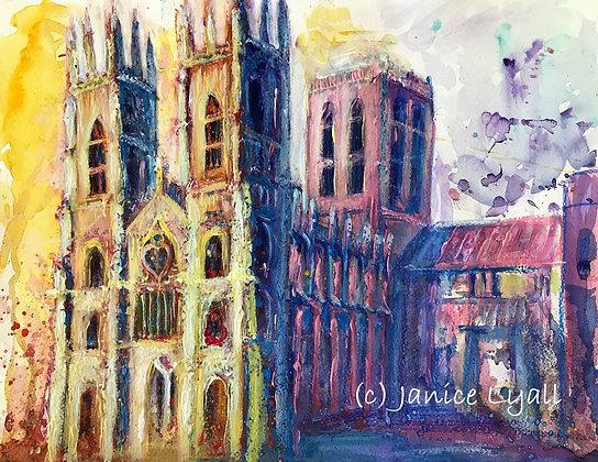 'York Minster Creamy Stonework'
