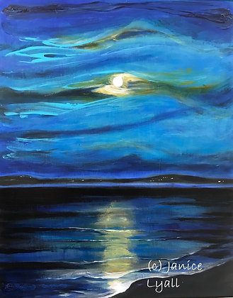 'Ripples in Moonlight'