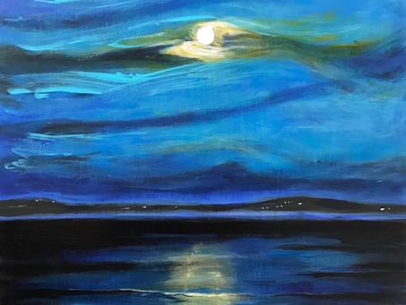 'Ripples in Moonlight'