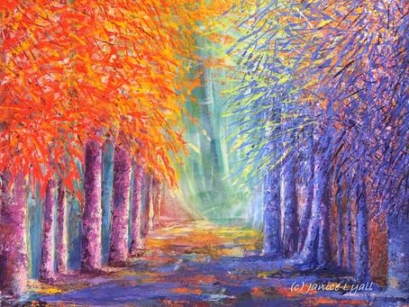 'Avenue of Colour'