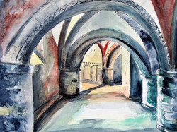 Gloucester Cathedral the Crypt 2