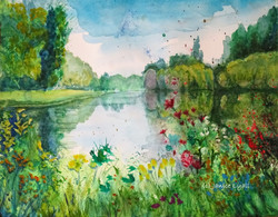 The Boating Lake by Janice Lyall