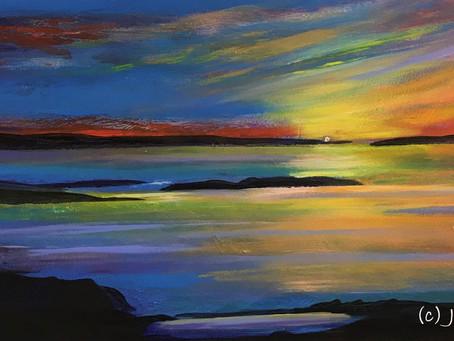 'Horizon at Sunset'