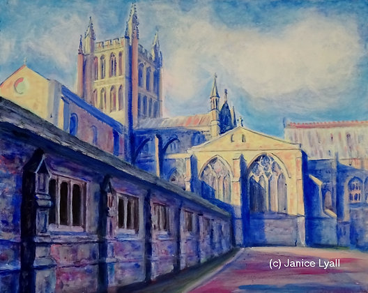 'Hereford Cathedral South East Transept'