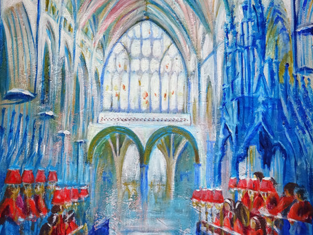 Choir Practice - Exeter Cathedral