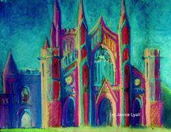 Hereford Cathedral - Pink Sandstone