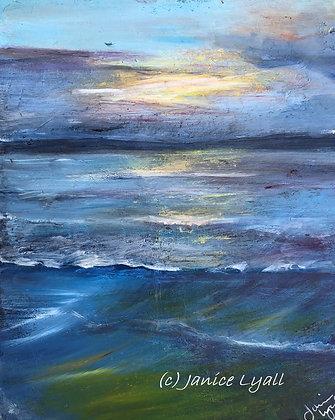 'Ebbing Tide - St Ives'