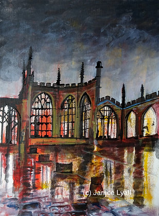 'Coventry Cathedral After the Storm'