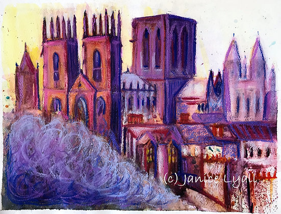 'York Minster Protecting the City'