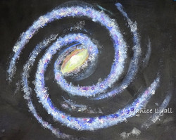 The 'Catherine Wheel' Milky Way