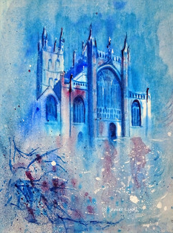 Gloucester Cathedral Winter
