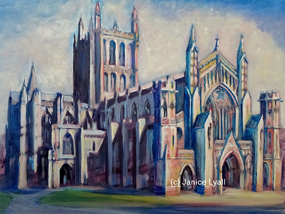 'Hereford Cathedral wrapped in cotton wool'