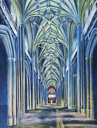 'Winchester Cathedral the Nave'
